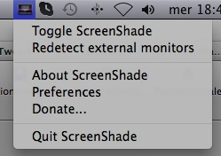 ScreenShade Utility Mavericks